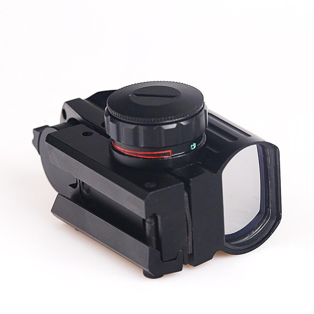 Red Dot 4 Fadenkreuze Taktische holographische projizierten Reflex Rot Grün DE