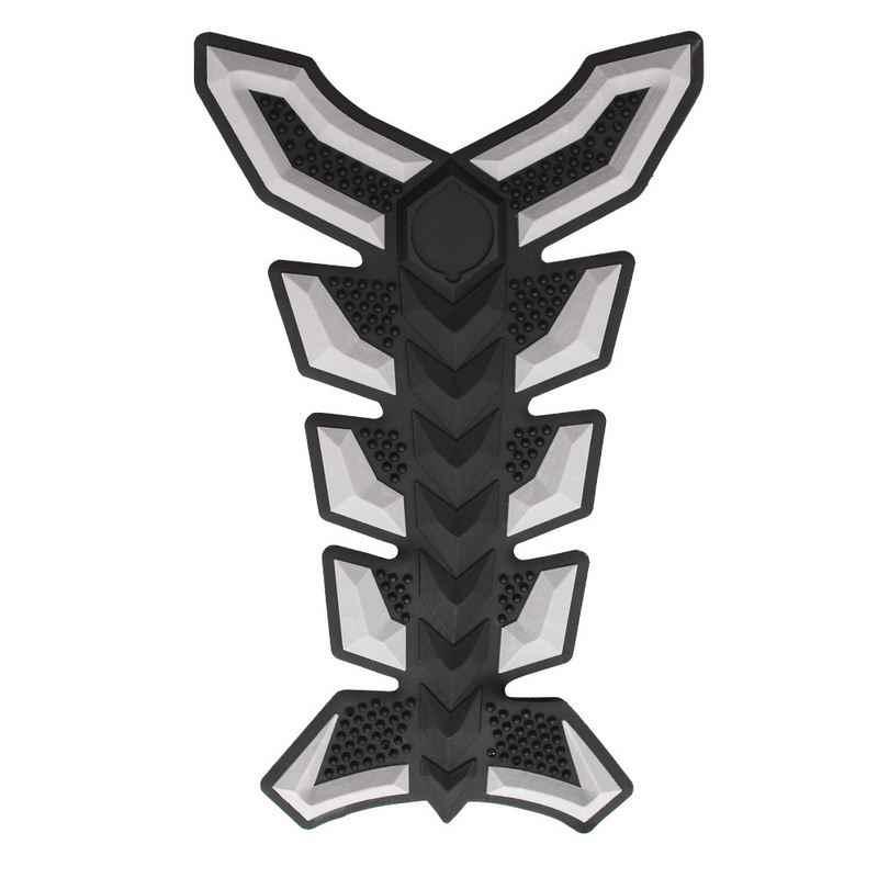 Karet Tulang Ikan Sepeda Motor Stiker dan Stiker Perekat Diri 3D Mobil Vinyl Tahan Air Tangki Bahan Bakar Sepeda Motor Styling