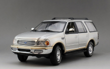 1997 Ford Expedition SUV 1/18 Diecast Model Several Colors Classic Vehicle Rare Collection Brinquedos