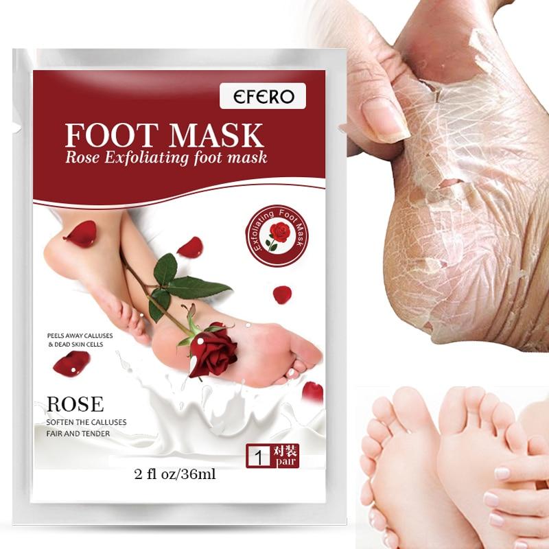 Schönheit & Gesundheit Füße Unparteiisch Efero 1 Paar = 2 Stücke Rose Fuß Maske Peeling Fuß Socken Für Pediküre Socke Entfernen Abgestorbene Haut Nagelhaut Feuchtigkeitsspendende Baby Füße Pflege