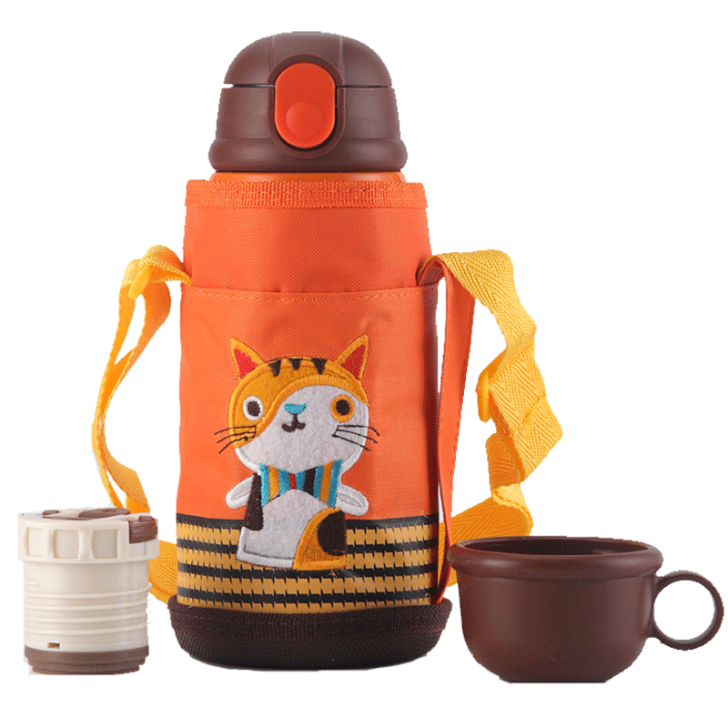 Thermos Cup Children  Water Bottle  Stainless Creative Flask Water Bottle Inox Stainless Thermos Insulated Coffee Cup 3DBWC01
