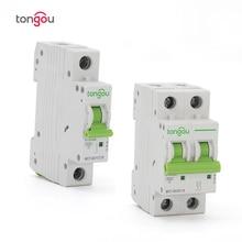 1 P 2 P 1A 6A 10A 16A 20A 25A 32A 40A 50A 63A миниатюрный выключатель 6KA 110 В/220 В/400 В 50/60 Гц нагрузки TOMC7