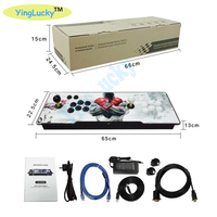 Free Shipping Box 6S+1388 in 1 Arcade Video Game Console with Pause Pandora's DIY TV PC PS3 Monitor Support HDMI VGA USB Output