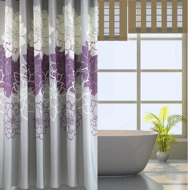 All Kinds Of Footage High End Shower Room Curtain Waterproof Bath Screen Gorgeous Sunblind
