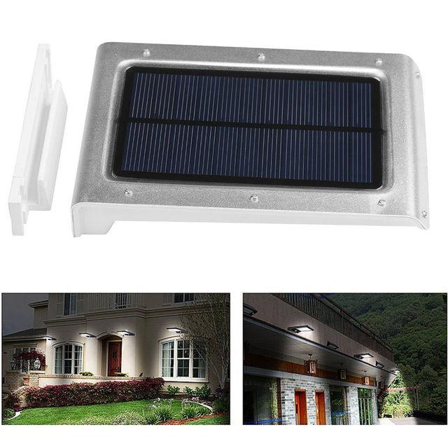 Uniquefire 2PCS/Lot 46 LED Solarlampe PIR Motion Sensor Light Waterproof Outdoor Garden Yard Path Security Solar LED Lamp Light