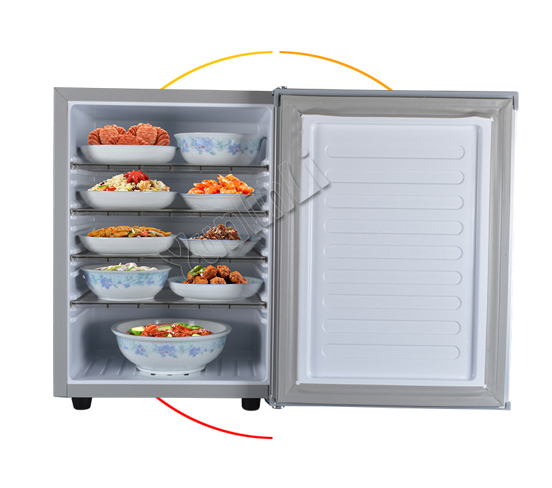 Non-electricity Food Warming Cabinet 40L Household Food Warmer Food Heating Machine Meal Heat Preservation Machine MDS-V6