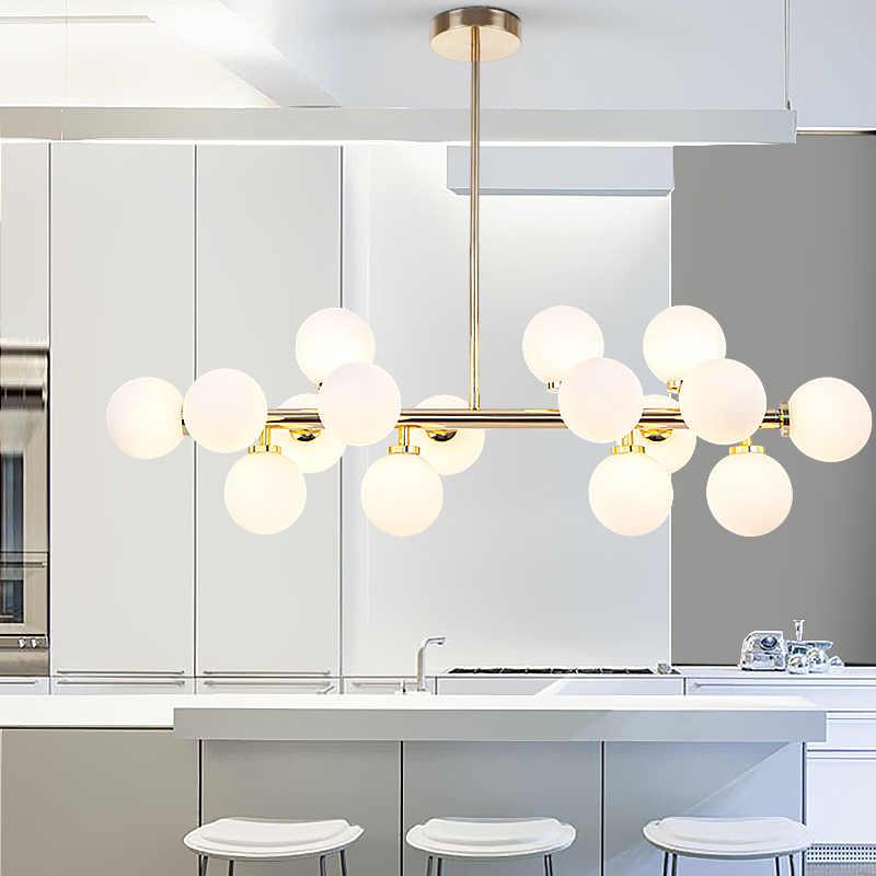 Lamp Led Chandeliers Light Gl Globe