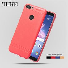 Phone Case For Huawei Enjoy 7s Case soft Silicone TPU Cover Cases For Huawei P Smart PSmart Phone Back Covers ShockProof(China)