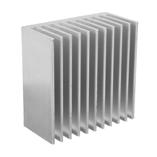 1PCS NEW Aluminum Heat Sink IC Heatsink Cooling Fin For CPU LED Power 40 x 40 x 20mm Active Component