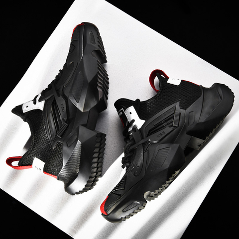 Running Shoes for Man Sneakers Sports Shoes Black White Men Comfortable Walking Shoes Brand Sneakers Lahore