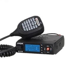 Baojie BJ-218 Автомобиль Мини Мобильный Приемопередатчик 25 Вт Dual Band VHF/UHF BJ218 Автомобильный радиоприемник PK KT8900 KT-8900R UV-25HX