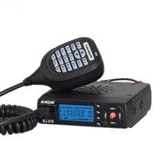 Baojie BJ-218 Car Mini Mobile Radio Transceiver 25W Dual Band VHF/UHF BJ218 Car radio PK KT8900 KT-8900R UV-25HX