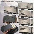 Hombres Hebilla Automática cinturón 2016 Nueva Llegada Diseñador de la Marca de Cuero Hebillas de Cinturón No Cinturón para Los Hombres de Negocios de Lujo de Calidad