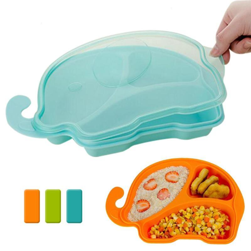 Cartoon baby Dishes Safe PP Feeding Food Plate Tray Food Holder Storage Containers Infant training Bowl Non-slip tableware D3  sc 1 st  fastboxx review - trafficmanager.net & Cartoon baby Dishes Safe PP Feeding Food Plate Tray Food Holder ...