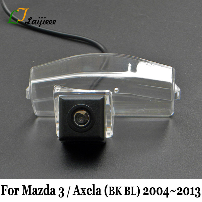 Car Rearview Camera For <font><b>Mazda</b></font> <font><b>3</b></font> Axela BK BL Mazda3 <font><b>2004</b></font> 2005 2006 2007 2008 2009 2010 2011 2012 2013 / Reverse Camera For Auto image