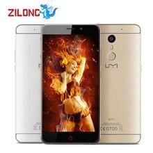 In Stock! Umi Max Mobile Phone 5.5'' Android 6.0 MediaTek Helio P10 Octa Core 3GB+16GB 13MP 4000mAh Fingerprint 4G Smartphone