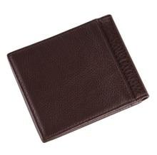 8055C Man 100% genuine leather wallet black color JMD Manufacturer wholesale