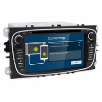 2 Din Android 4 2 2 Car Dvd Gps Player For Ford Car Stereo Radio For