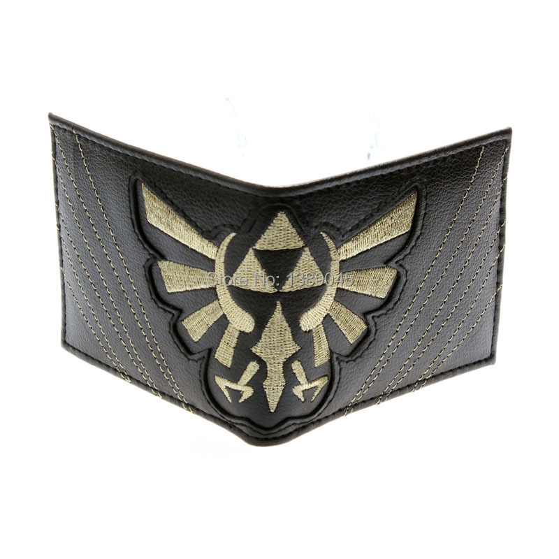 The Legend of Zelda wallet Young men and women students personality short animated cartoon fashion purse DFT1219 все цены