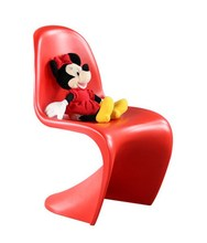 modern design classic popular Kids plastic S shape dining chair stackable Children leisure Chair Baby loft style design Chair(China)