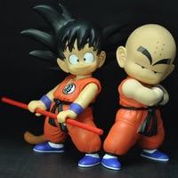 1 pz 21 CM Dragon Ball Nuovi Giocattoli Son Goku Crilin Action Figure modello Giocattoli Anime Bambini PVC Giocattoli Buon Regalo di Compleanno per Bambini