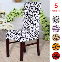 2/4 / 6PCS Elastic Chair Covers Stretch Decor Party Wedding Party