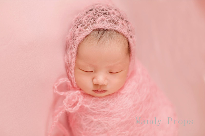 Stretch mohair wrap for newborn photography props,Baby Handmade Knitted Mohair Wrap With Hat Set Photo Prop so cute luxury newborn mohair romper newborn overalls newborn photo prop