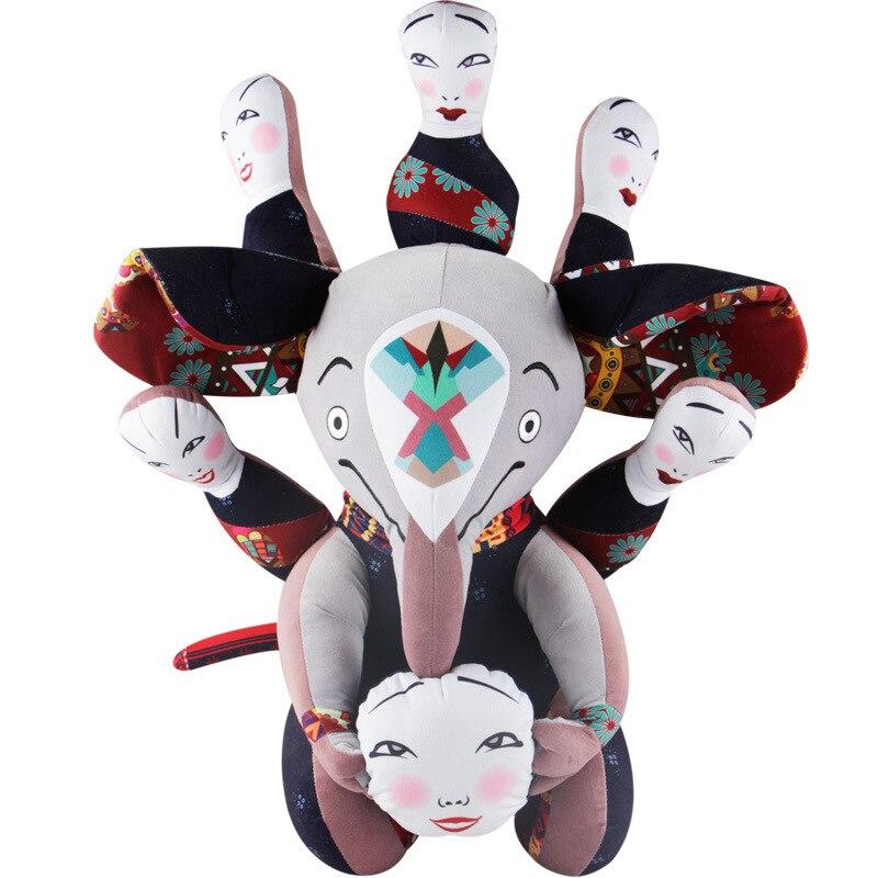 Grand dessin animé mignon bête de rêve éléphant en peluche jouet film COCO Pixar animaux en peluche poupée pour enfants enfants filles cadeaux d'anniversaire