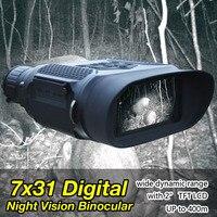 Eagleeye 850NM 3 W инфракрасный светодиодный видеосъемка 3,5 7X цифровой бинокль ночного видения для охоты OS27 0023