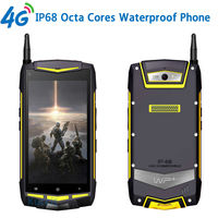 Rugged Android Waterproof Phone 8 Octa Core UHF Walkie Talkie 5 1920x1080 IP68 GPS V1 Mobile Phone 4G LTE S8 2GB RAM 32GB ROM