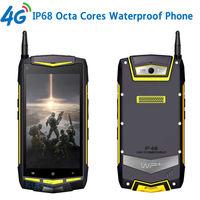 Unlocked Cell Phones Android 5 1 Walkie Talkie IP67 5 1920x1080 MSM8939 Octa Core Waterproof Phone