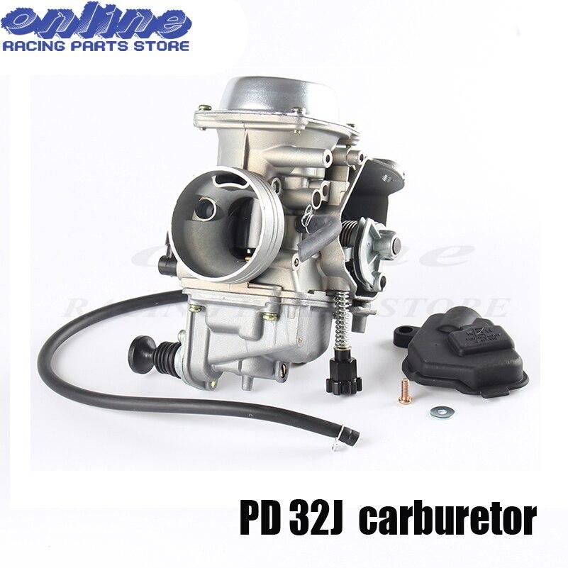 Carburateur de 32 MM PD32J ATV pour Honda Rancher TRX 350 TRX350 350ES/FE/FMTE/TM moto ATV Quad