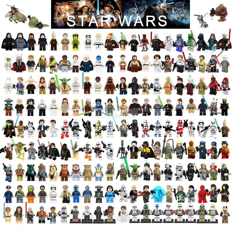 Single Sale Star Wars Blok Bangunan Han Solo Luke Darth Vader Yoda Cari R2D2 Mainan Kompatibel Legoelys Starwars Angka