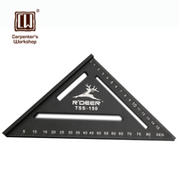 Carpenter S Workshop 90 Degrees Wide Bottom Thickening Angle Aluminum Alloy Triangular Woodworking Rectangular Angle 45