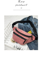 QIUYIN  Bum Bag Solid Waist Packs Bolsa Cintura Classic Men Male Casual bag Fanny Pack Women Money Phone Belt