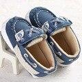 Moda Azul Bebé Zapatos Niñas niños Niño Recién Nacido Cuna Niños Zapatillas de Deporte Casuales Mocasines Chaussure Sapatinhos bebe Sapatos