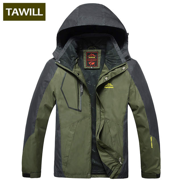 0530dd42e36 placeholder TAWILL 2017 New Men s Waterproof Windpoof Jackets Men Spring  Autumn Jacket Coats Male Brand Clothing Plus