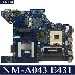 KEFU NM-A043 laptopa płyta główna dla lenovo ThinkPad krawędzi E431 oryginalna płyta główna GM