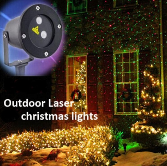 Outdoor laser projector lamp christmas lights red green firefly show outdoor laser projector lamp christmas lights red green firefly show aluminum material ip65 waterproof for lawn mozeypictures Choice Image