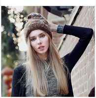Fashion Hat Korean Hat Hats For Autumn And Winter Knitted Hats To Keep Warm Baotou Fur