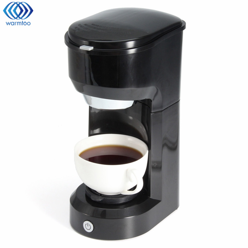 Coffee Make Single Cup Universal KCUP Coffee Machine Hourglass Makers Drip Espresso Cappuccino Kitchen Office xeoleo mini coffee maker automatic single cup coffee machine drip american coffee with ceramic cup as gift automatic insulation