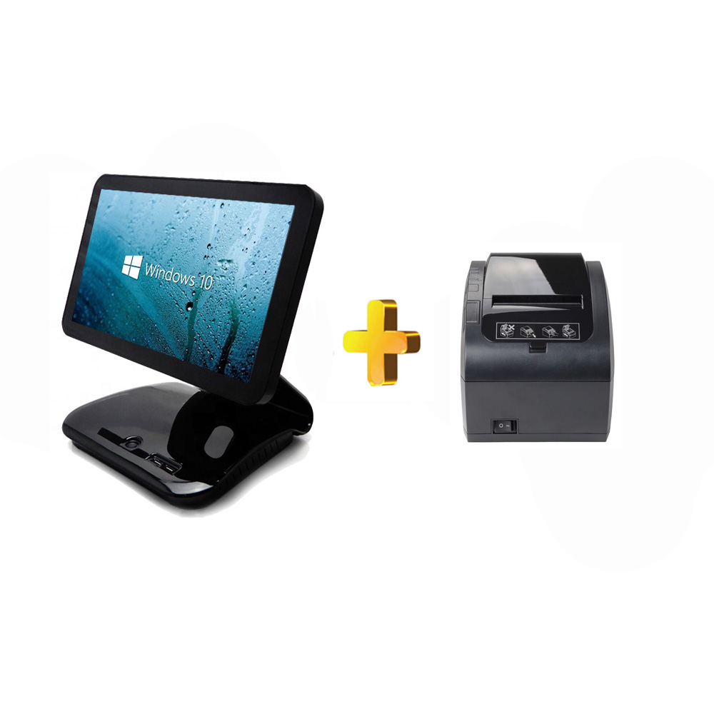 15.6'' touch screen POS system/cash register/<font><b>cashier</b></font> POS Sale <font><b>cashier</b></font> <font><b>machine</b></font> for restaurant pos terminal all in one image