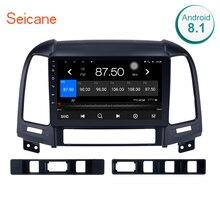 Seicane 2 Din Android 8,1/7,1 Автомагнитола аудио стерео Мультимедийный Плеер gps навигации для 2005 2006 2007-2012 HYUNDAI SANTA FE