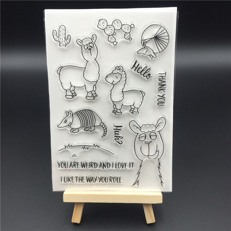 YOU ARE WEIRD AND I LOVE IT THANK YOU Scrapbook Clear Stamp photo cards account rubber stamp Embossing Folder card Stamp A433 thank you my friend you are the best scrapbook clear stamp photo cards account rubber stamp embossing folder card stamp