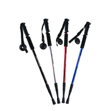 Walking Sticks Elderly Crutches Alpenstocks EVA Grips Collapsible Hiking Stick Climbing Trekking Poles Telescopic T/Straight