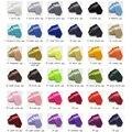 Delgado Skinny Ties Lazo de Los Hombres corbata de Poliéster de color Sólido 36 colores