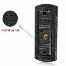 (1 PCS) NEW Video Intercom Entrance machine Door access Control Door Bell Only Outdoor Unit IR Camera Night visible waterproof