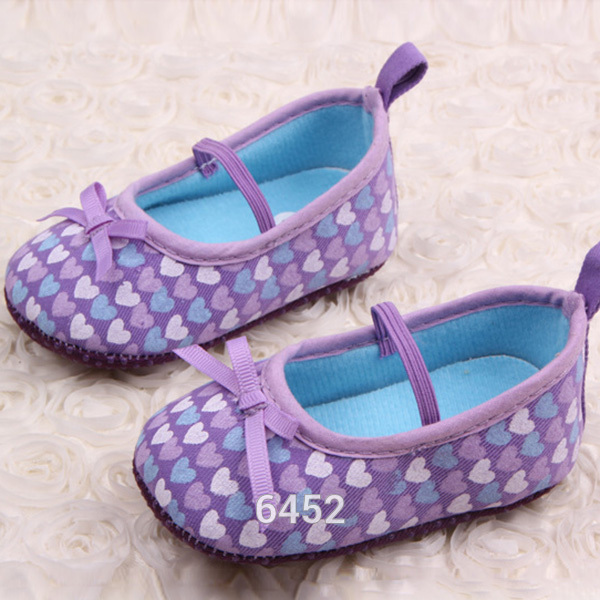 Nuevos Cabritos de Las Muchachas Del Corazón Dulce Bebé Recién Nacido Zapatos de