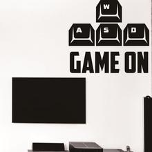 game Sticker Logo Name game Decal Posters Vinyl Wall Decals Pegatina Quadro Parede Decor Mural game Sticker 9