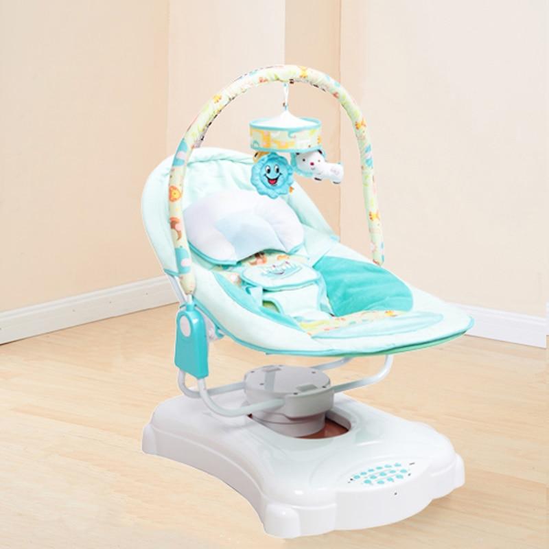 Schommelstoel Elektrisch Baby.Baby Te Slapen Wieg Schommelstoel Elektrische Wieg Baby Bouncer